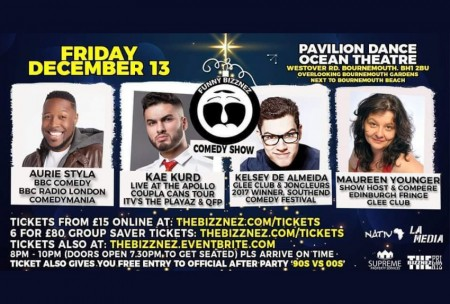 Funny Bizznez Comedy Xmas Special and After Party