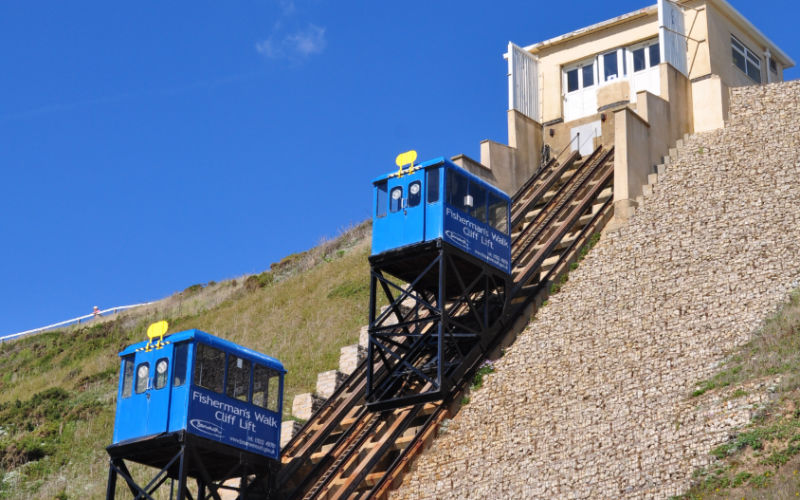 Fishermans Walk Cliff Lift