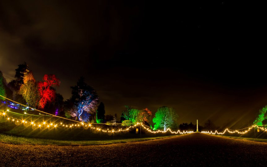 Christmas Lights at Kingston Lacy