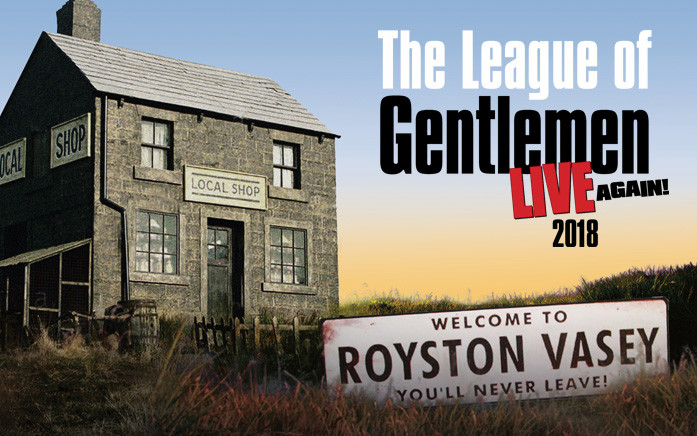 The League of Gentlemen Live Again! SOLD OUT