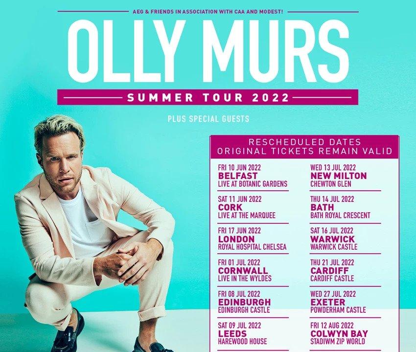 Olly Murs at Chewton Glen