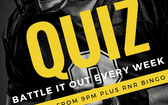 Quiz Night - Rock and Roll Bingo at The Grove Tavern