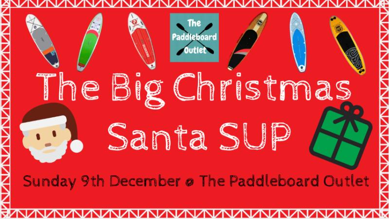The Big Christmas Santa SUP!