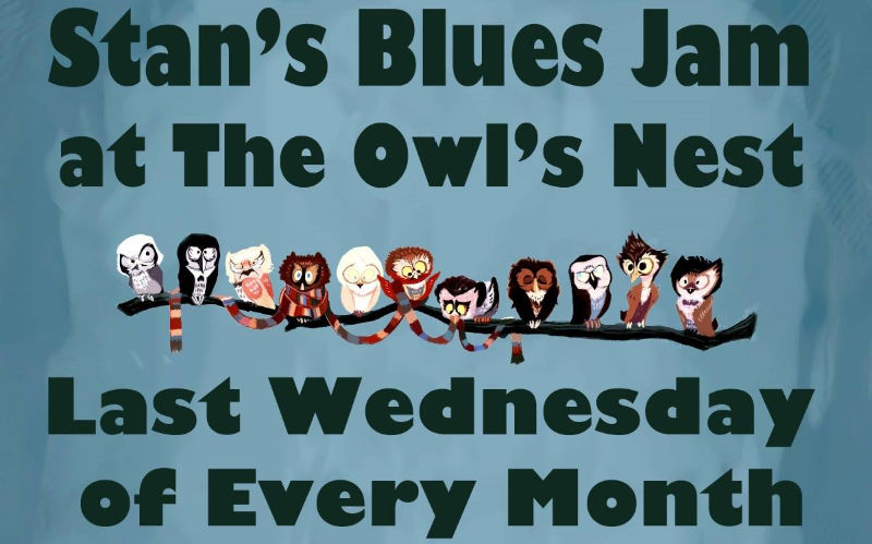 Stan's Blues Jam at The Owl's Nest